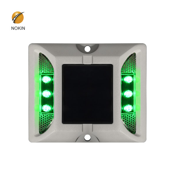 NOKIN Amber Raised Solar Road Stud Light For Expressway NK-RS-A6-1