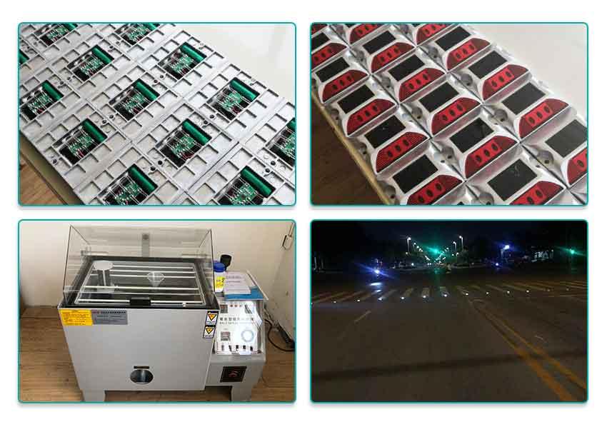 Nokin Solar Road Stud in Production