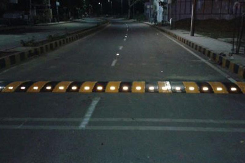 Road Stud Can Be Speed Bumps