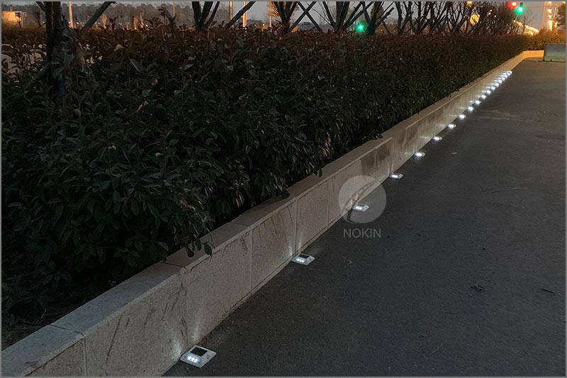 nokin-white-solar-studs